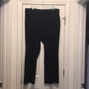 Lane Bryant size 20W trouser pant in black